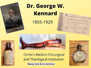 The Legacy of Dr. George W. Kennard