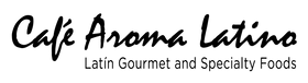 Cafe Aroma Latino Logo Wordmark Black-01