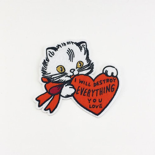 """""""I Will Destroy Everything You Love"""" Patch"""