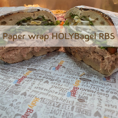 Paper Wrap HOLYBAGELRBS