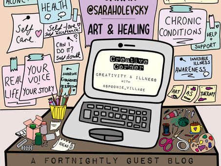 Chronically Creative #2: Sarah Olevsky on art and healing