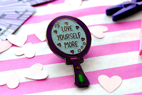 Love Yourself More Pins