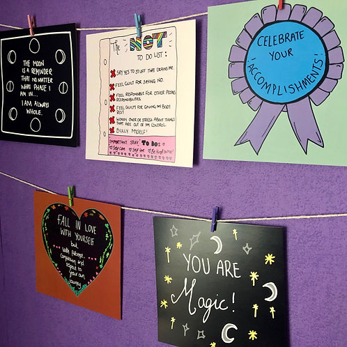 Love Yourself More Bunting