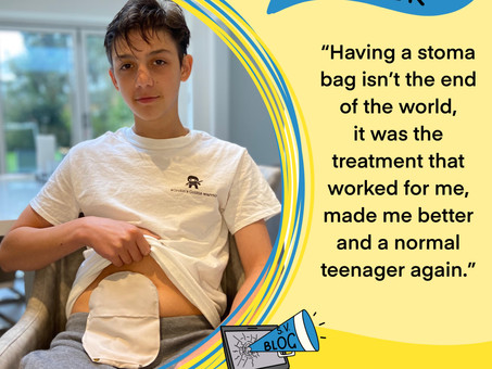 Oliver - My stoma bag allowed me be a normal teenager again