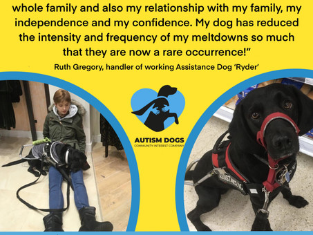Carers' Week : Autism Dogs CIC