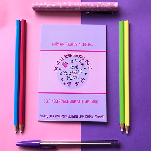 Love Yourself More Activity Book