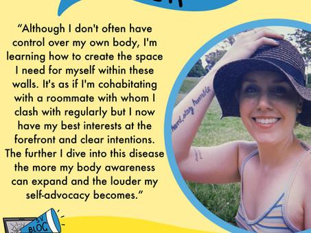Kayla Jenkins - Cohabiting With Arthritis