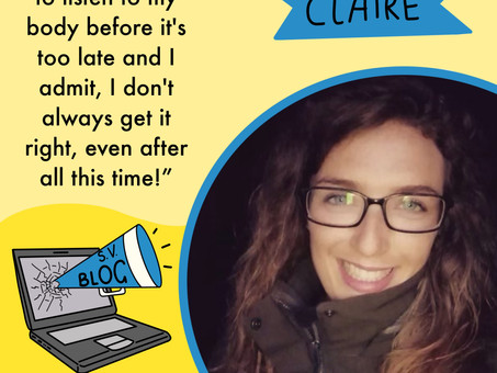 Claire Thackray - I've arrived at the '10 plus club'