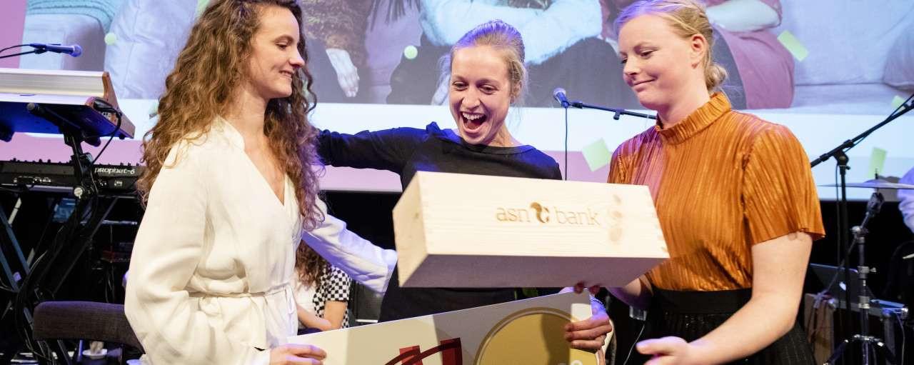 CaffeInk wint de 3e prijs van de ASN Wereldbankprijs