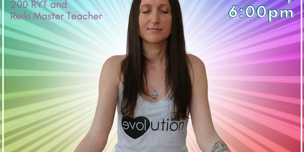 Reiki Healing Circle: Chakra Series (Third Eye) with Valerie Blohm