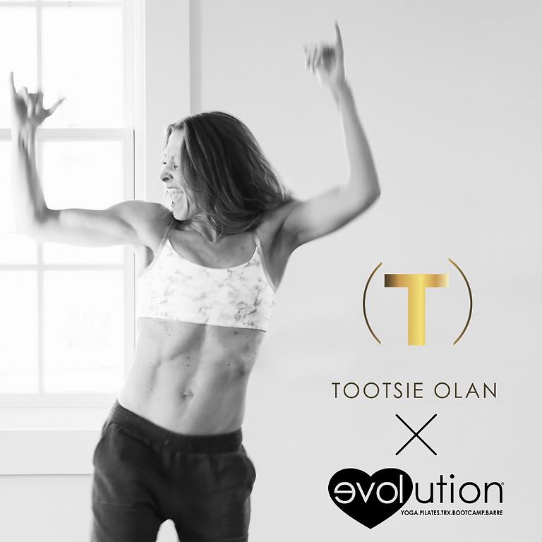 danceFLOORED™ with Tootsie Olan