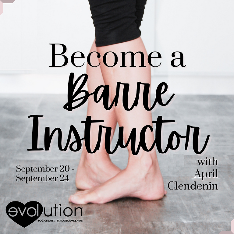 Barre Instructor Training