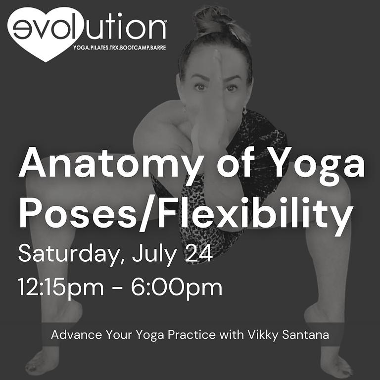 "Anatomy of Yoga Poses/Flexibility Edition: ""Level Up"" Yoga Series"