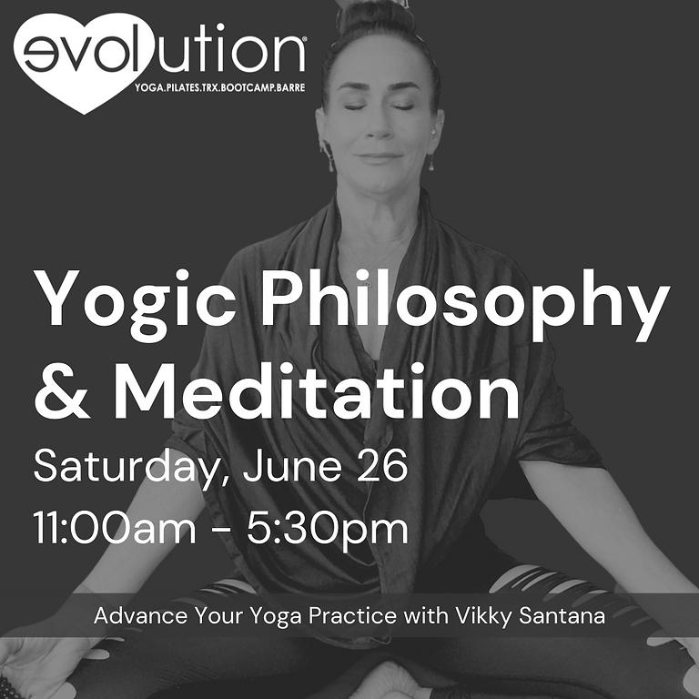 """Yogic Philosophy & Meditation Edition: """"Level Up"""" Yoga Series"""