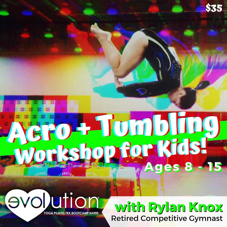 Acro+Tumbling for Kids