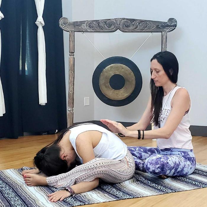 Candlelit Restorative Yoga + Reiki