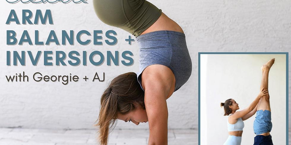 Elevate: Arm Balances & Inversions with Georgianna Boynton