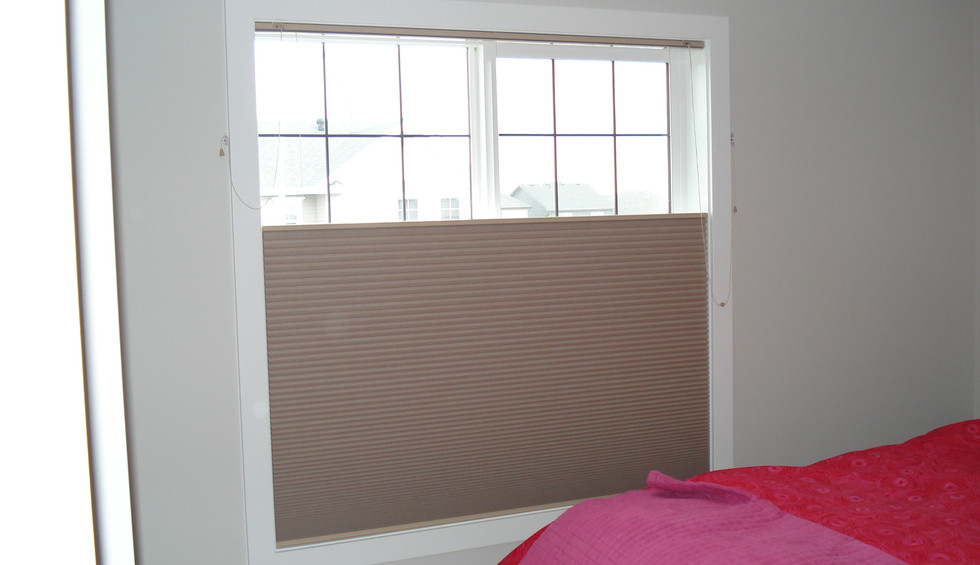 Beautiful Blinds Brown Honeycombs