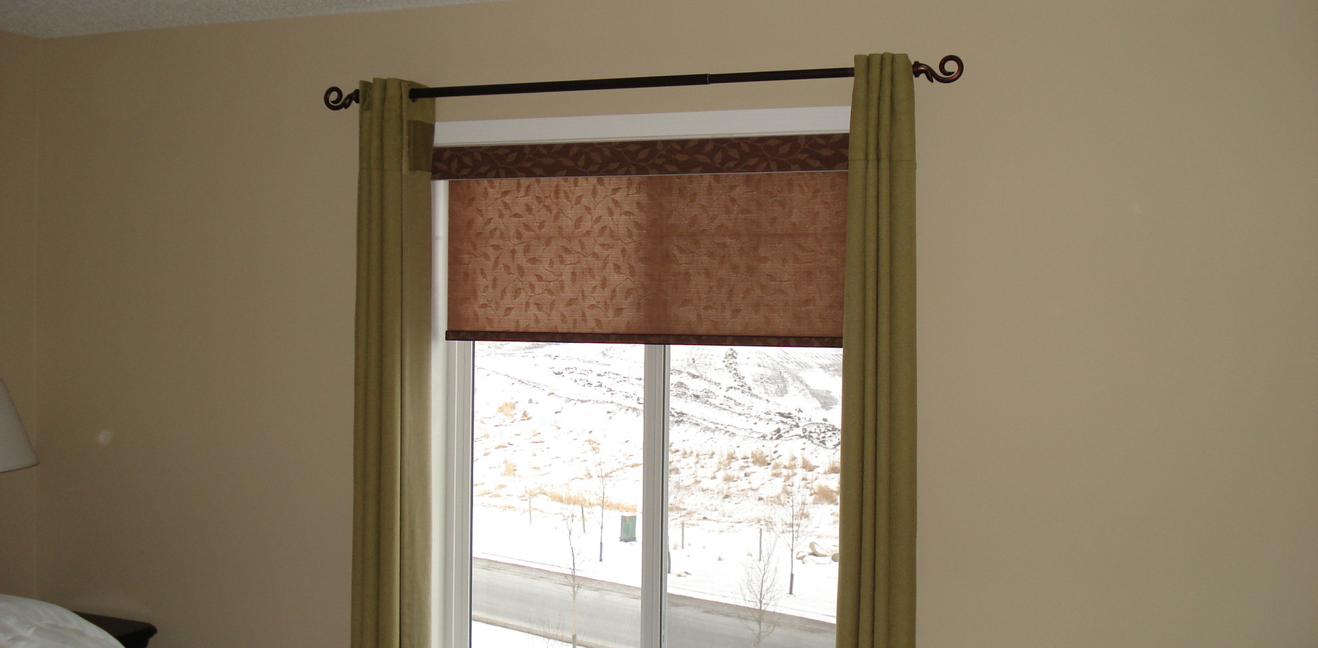 Beautiful Blinds Brown Designer