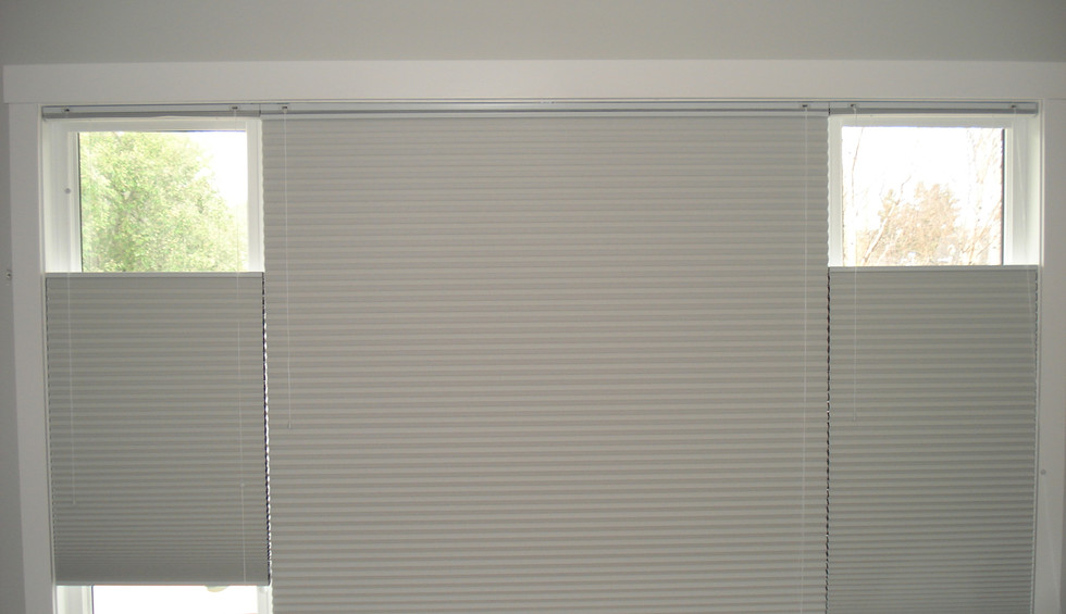 Beautiful Blinds White Honeycombs