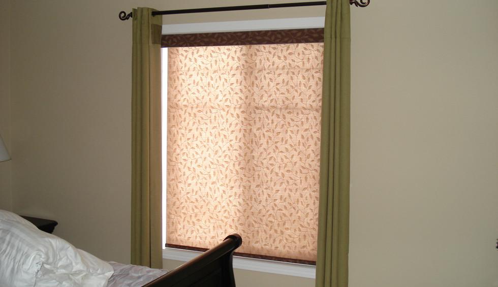 Beautiful Blinds Brown Designer