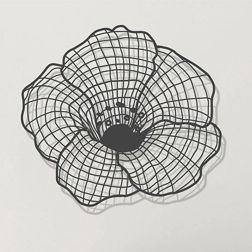 Blooming | אמנות לקיר ממתכת | עיצוב הבית