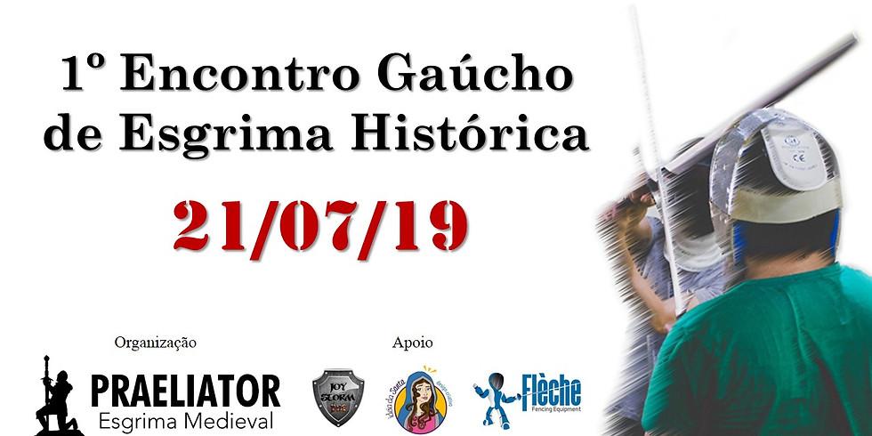 1º Encontro Gaúcho de Esgrima Histórica