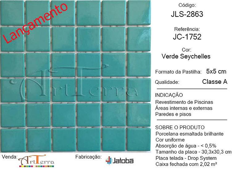 JC-1752 VERDE SEYCHELLES 5x5