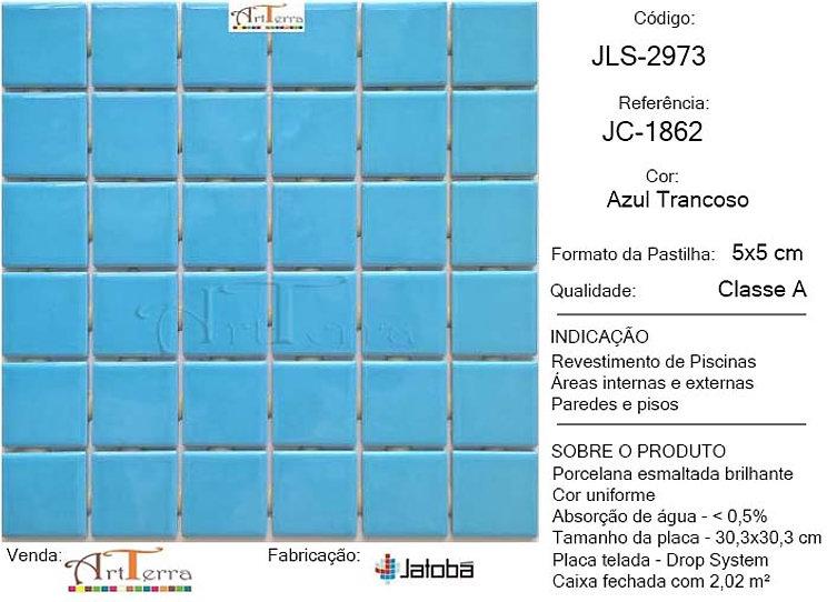 JC-1862 AZUL TRANCOSO 5x5