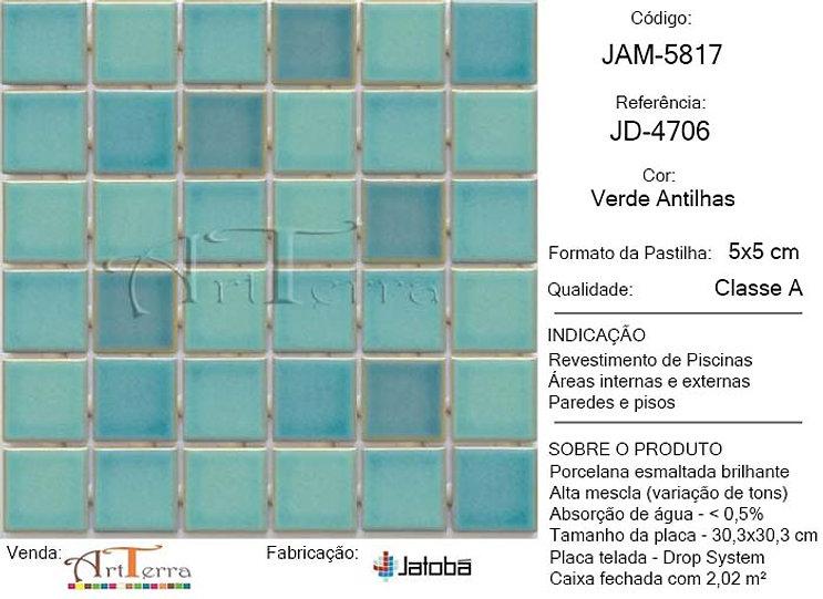JD-4706 VERDE ANTILHAS 5x5