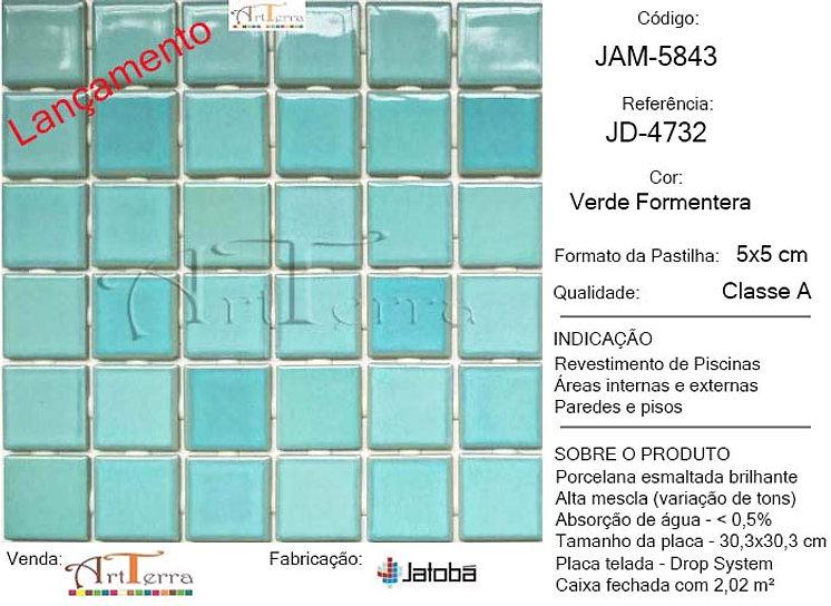 JD-4732 VERDE FORMENTERA 5x5