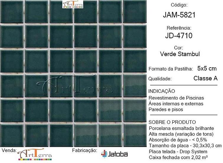 JD-4710 VERDE STAMBUL 5x5