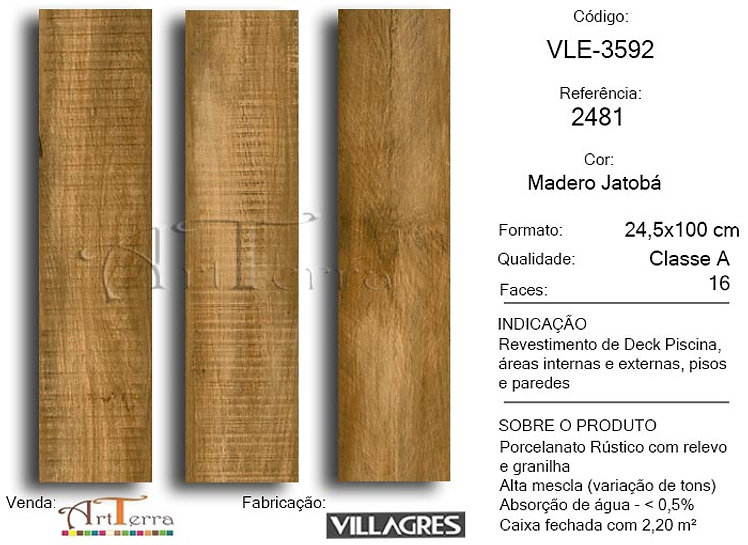 2481 MADERO JATOBA