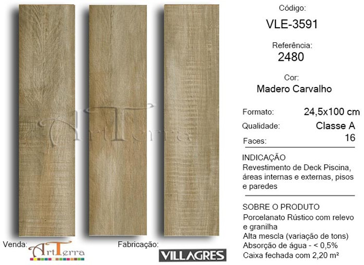 2480 MADERO CARVALHO