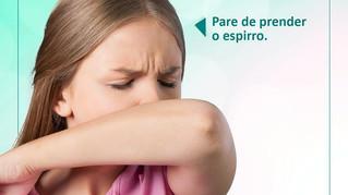 Pare de prender o espirro