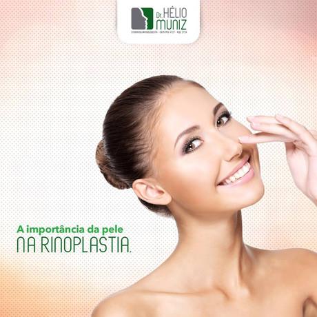 A importância da pele na Rinoplastia