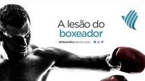 A lesão do boxeador