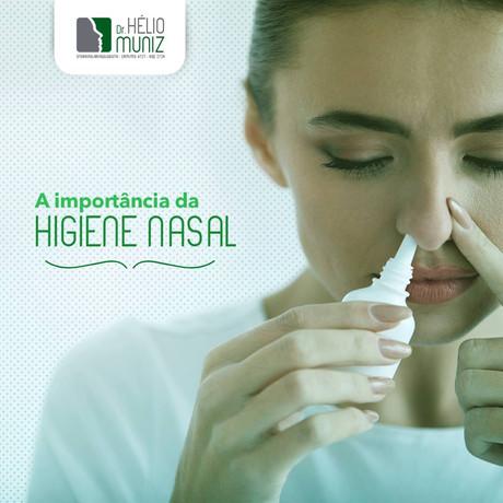 A importância da higiene nasal