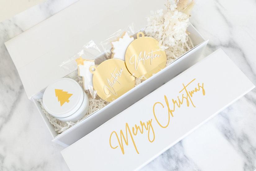 Luxury Personalised Christmas Gift Box