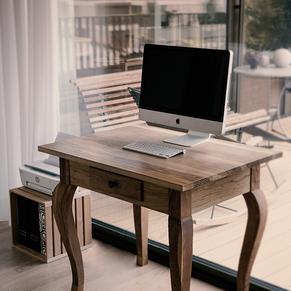 Computertisch aus Eiche