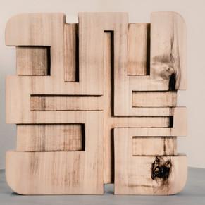 Kunst aus Pappelholz
