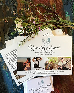 Upon A Moment Byron Bay Weddin Fair Promo