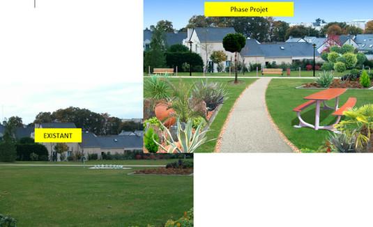 Projet creation espace vert