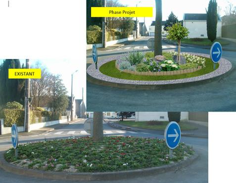 Projet aménagement espace vert