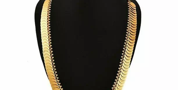 Alloy Golden Necklaces