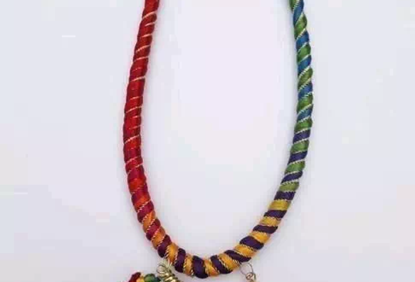 Alloy Beads Necklace