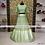 Pista Green Embroidery Designer Net & Satin Lehenga