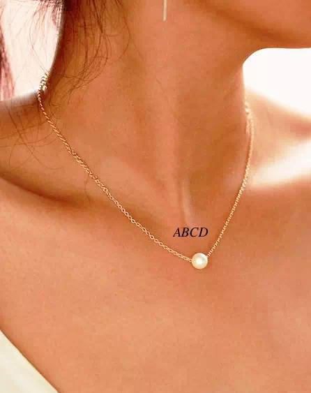Golden Neck Chain Necklace