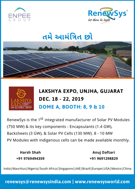 RenewSys invites you to Lakshya Expo