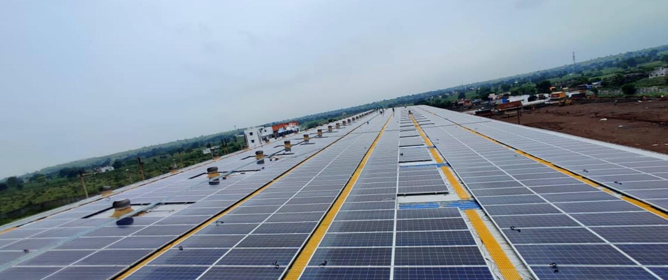 1.2 MW Divya Foods Jalna, RenewSys DESERV PV Modules 335 Wp, India